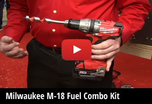 Milwaukee M18 Fuel Combo Kit
