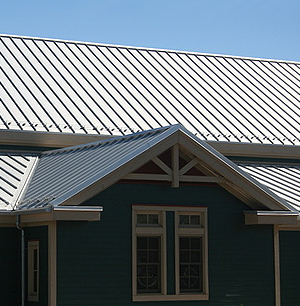 Metal Roof - Post-Frame Building